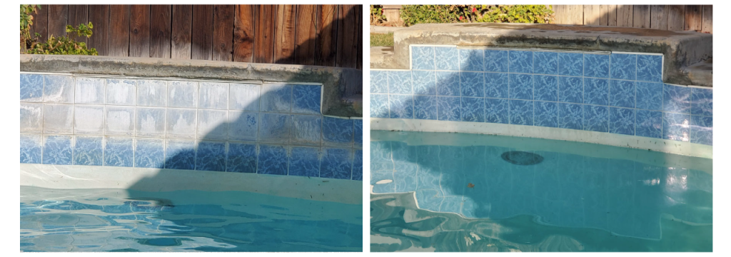 Pool Tile Cleaning by Nate's Pool and Tile Services